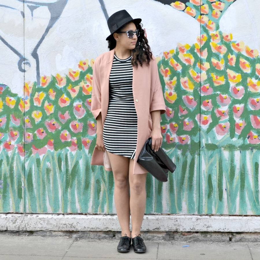 Striped Dress Look