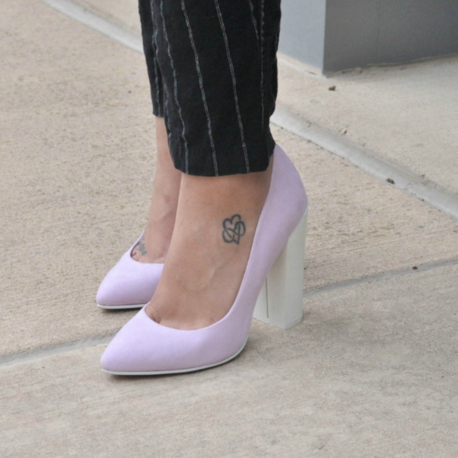 ASOS Colorblock Heels