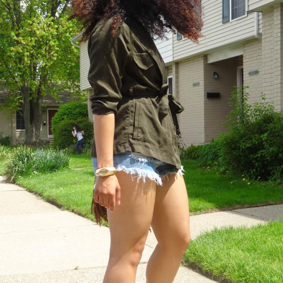 Utility Wrap Jacket Lil Miss JB Style Wardrobe Consultant