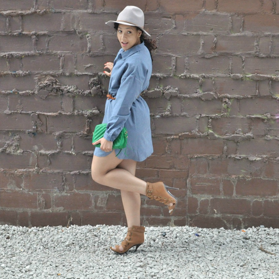 How to Wear Color shirt dress Lil Miss JB Style