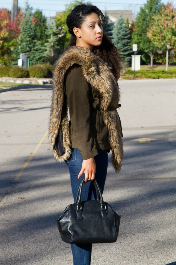Styling a Wrap Jacket for Fall|Lil Miss JB Style