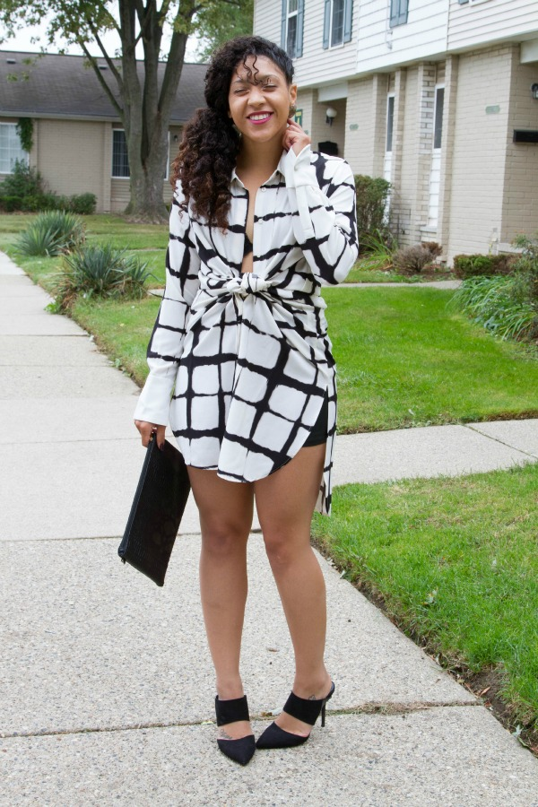 How to style maxi shirt dress