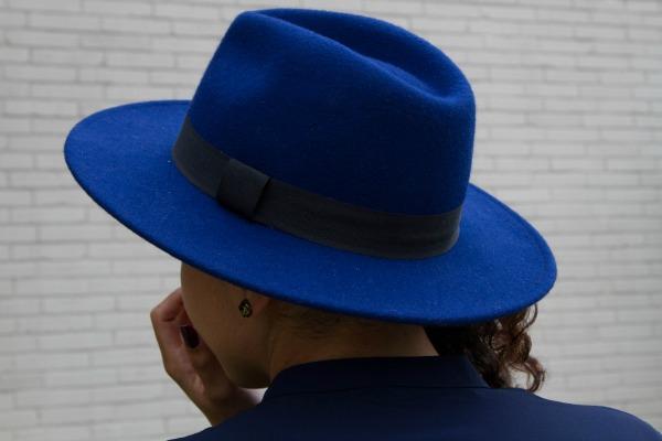 Navy H&M Hat
