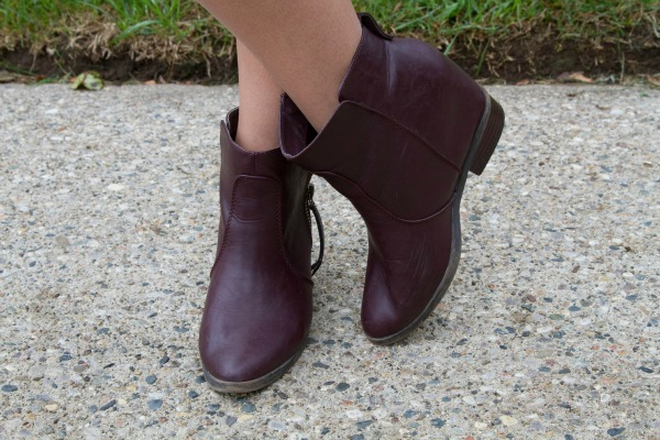 layering for fall forever 21 booties