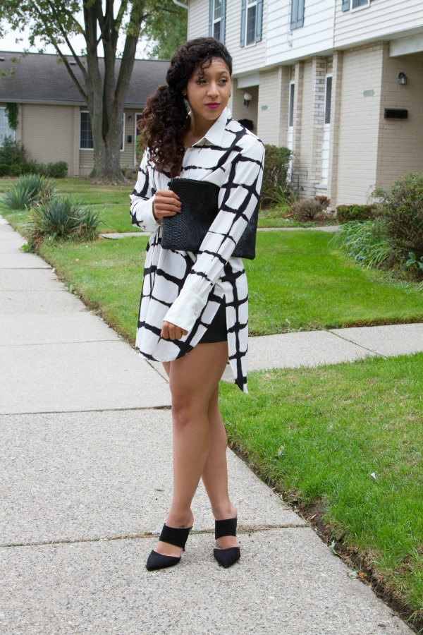 styling a maxi shirt dress