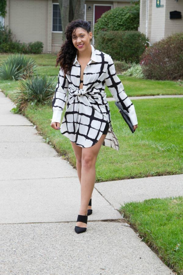 target shirt dress style