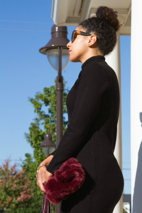 ASOS Midi Dress Outfit