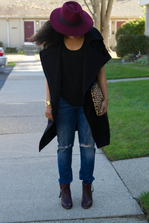 Nasty Gal Transition Coat Outfit