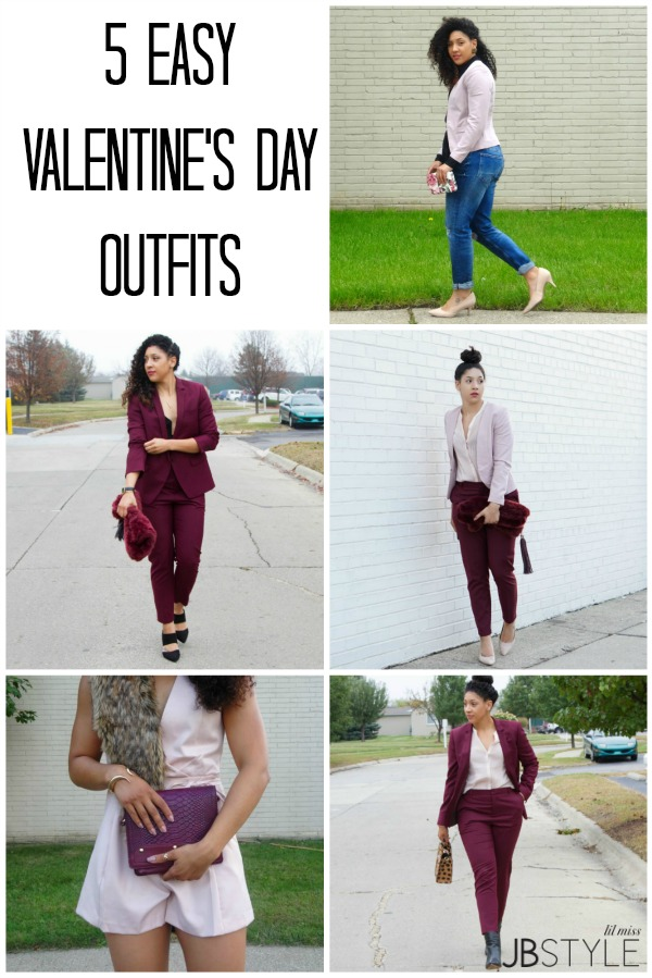 5 Easy Valentine's Day Outfits Lil Miss JB Style