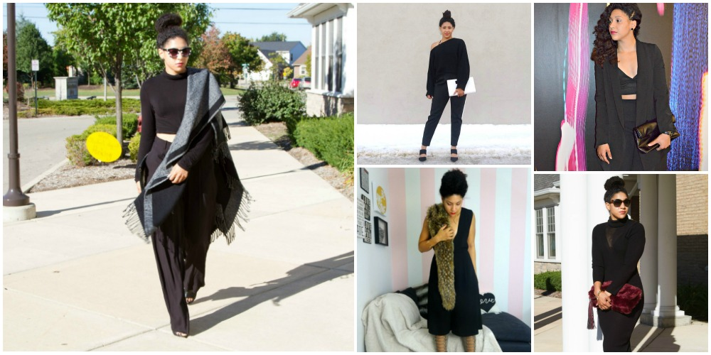 5 Ways to Wear All Black