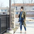 How to Wear an Olive Trench Coat Lil Miss JB Style