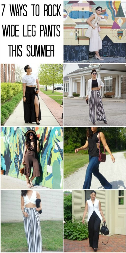 How to Wear Wide Leg Pants this Summer|Lil Miss JB Style