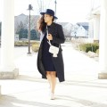 How to Wear a Navy Monochrome Outfit Lil Miss JB Style