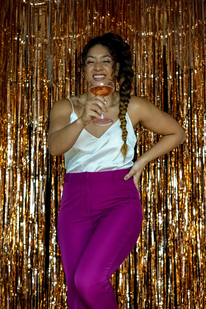new years eve outfits black girl, fashion blogger style outfits, what to wear going out New Year's Eve, new years eve outfit ideas women, how to wear a hot pink suit