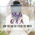 How you can stay stylish this winter via Lil Miss JB Style
