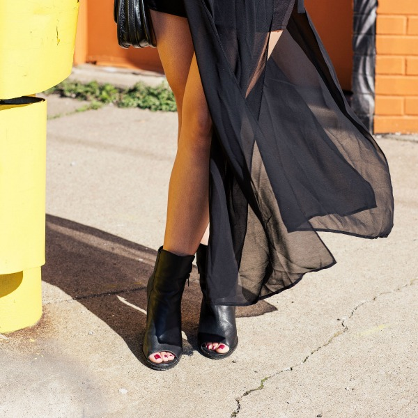 How to Style a Sheer Maxi Dress Lil Miss JB Style