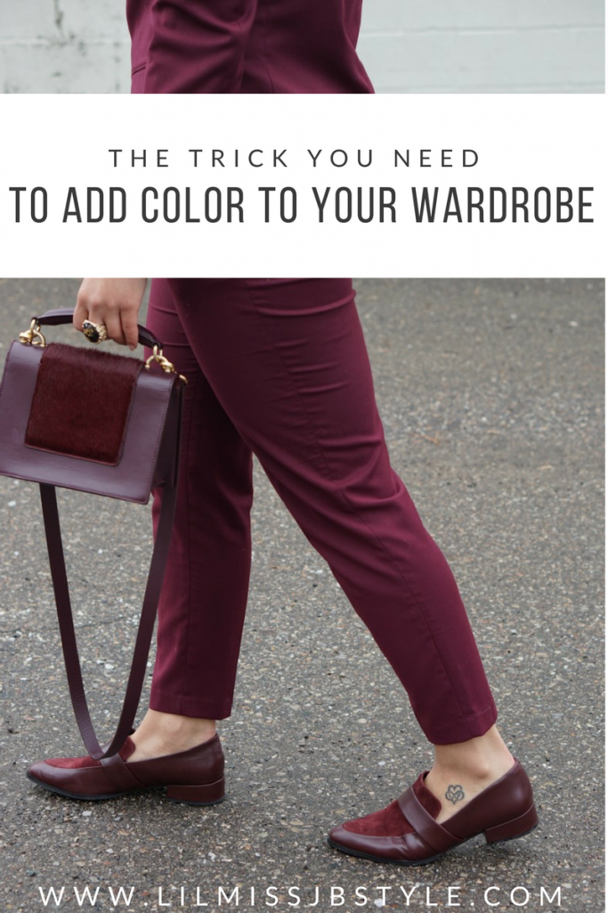 Add Color to Your Wardrobe