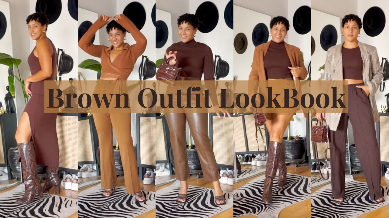 brown outfits on YouTube