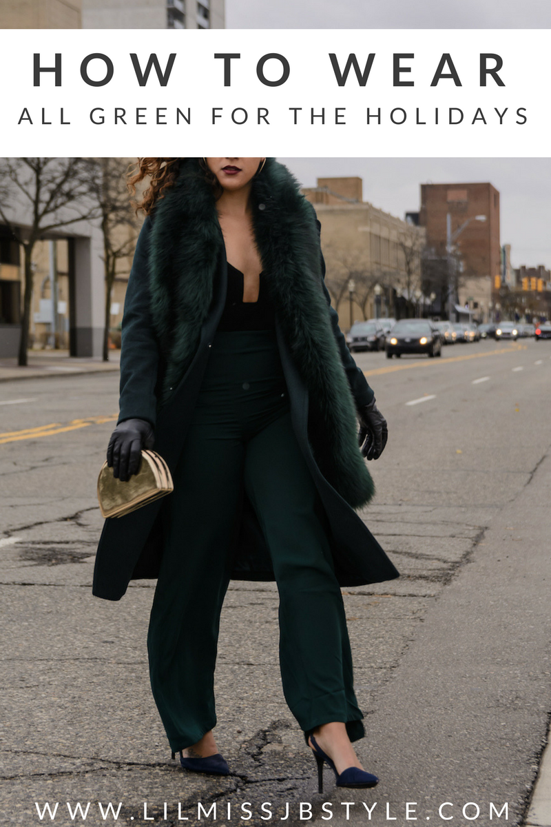 Ultimate Guide: All Green Holiday Outfit Idea for Young Women