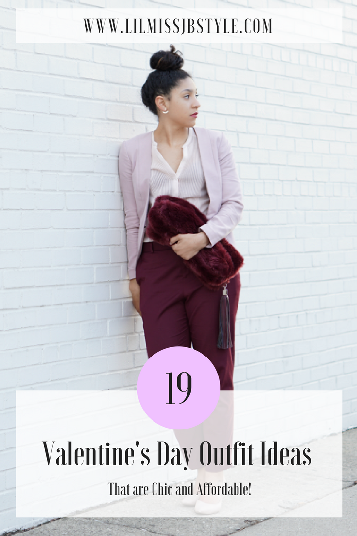 19 Chic Valentine's Day Outfit Ideas for Young Women in their 20s and 30s on a Budget, Valentine's Day Looks, fashion blogger, holiday style, holiday fashion, monochrome outfit