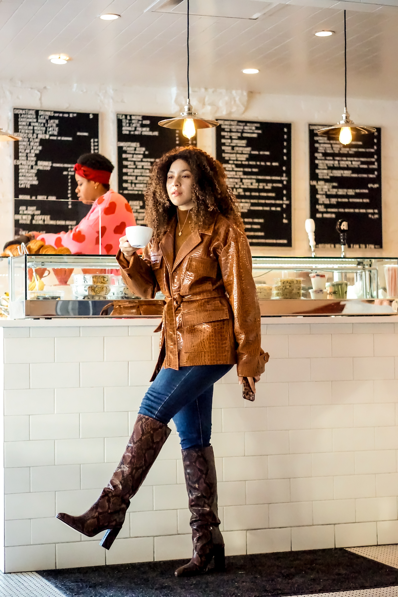 coffee shops in Royal Oak Michigan, fashion blogger style outfits,