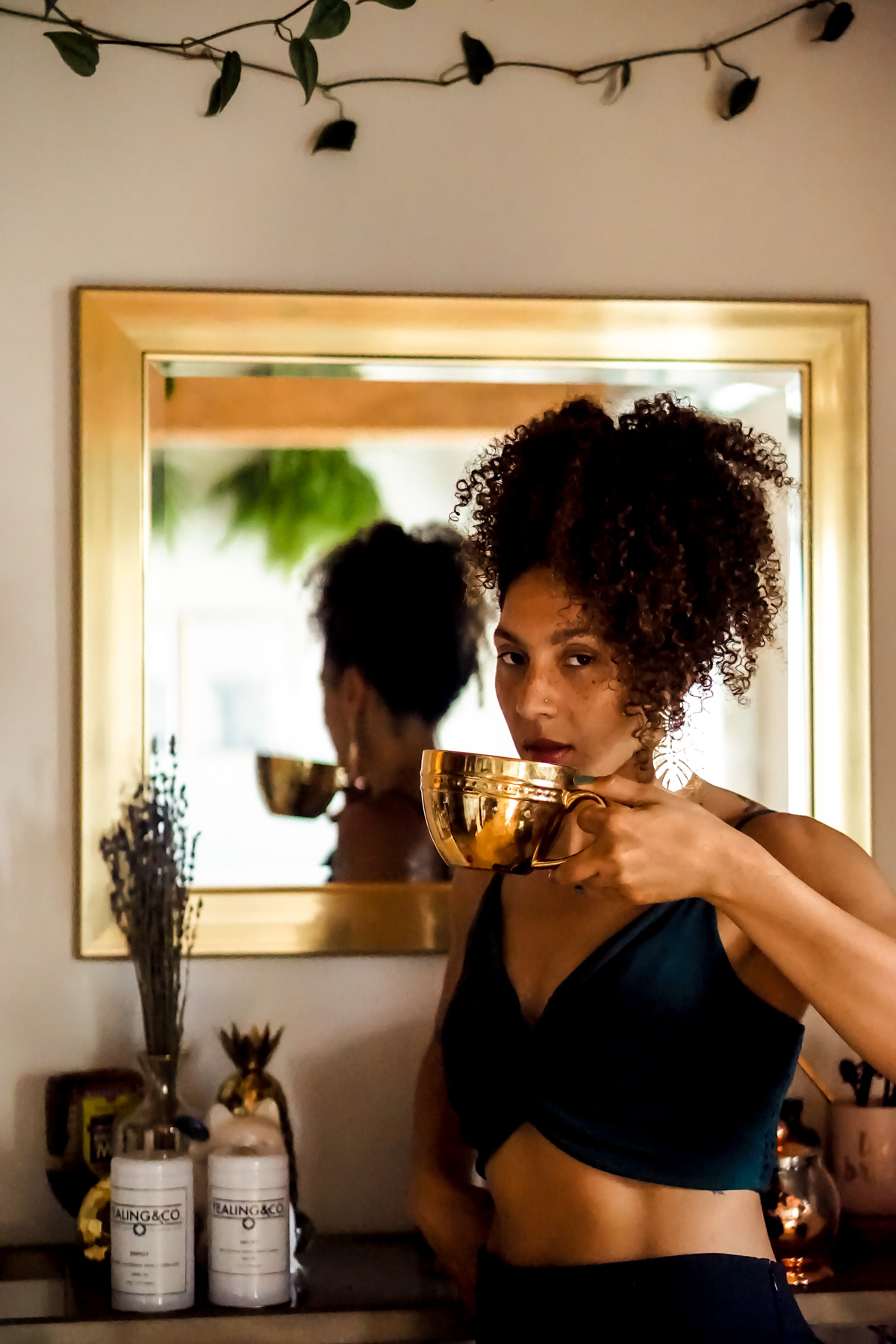 support black owned business, tea recipes, black fashion bloggers, black woman owned tea company, Tealing & Co., shop small