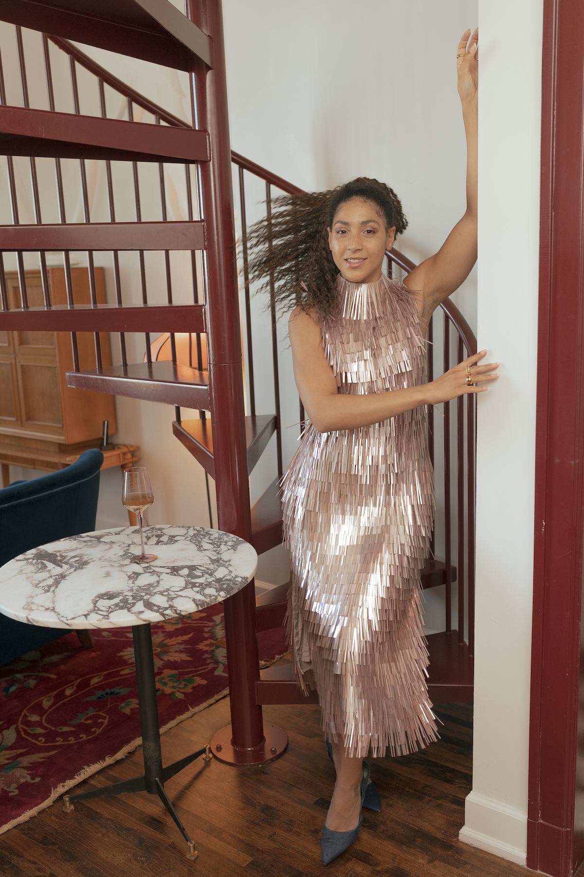 new years eve outfits, black fashion blogger inspiration, sequin party dress, what to wear on New Year's Eve