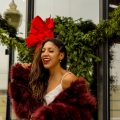 classy holiday party outfit, black fashion blogger style outfits, Christmas holiday party outfit, style tips and tricks clothes hacks