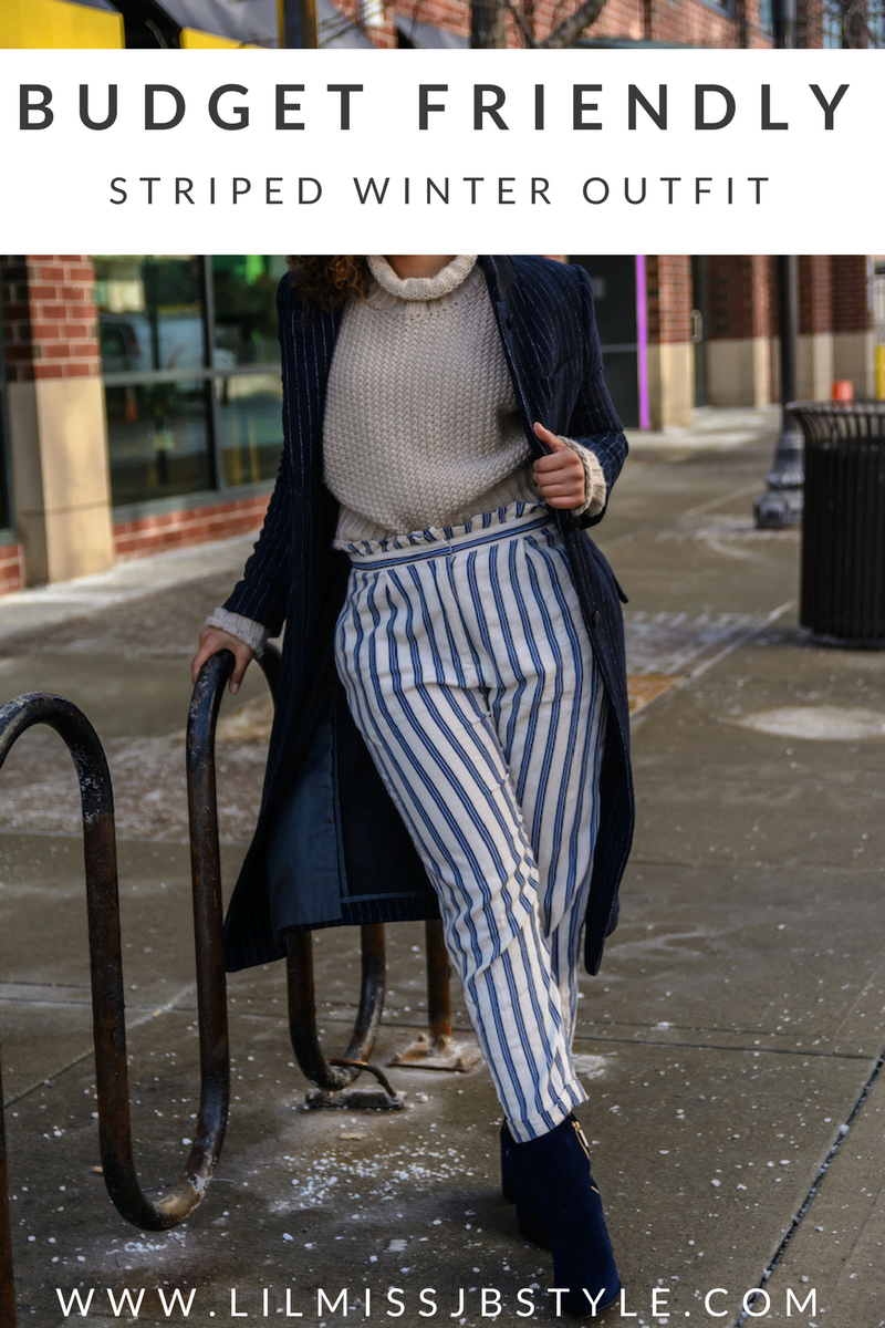 How to Mix Winter Stripes