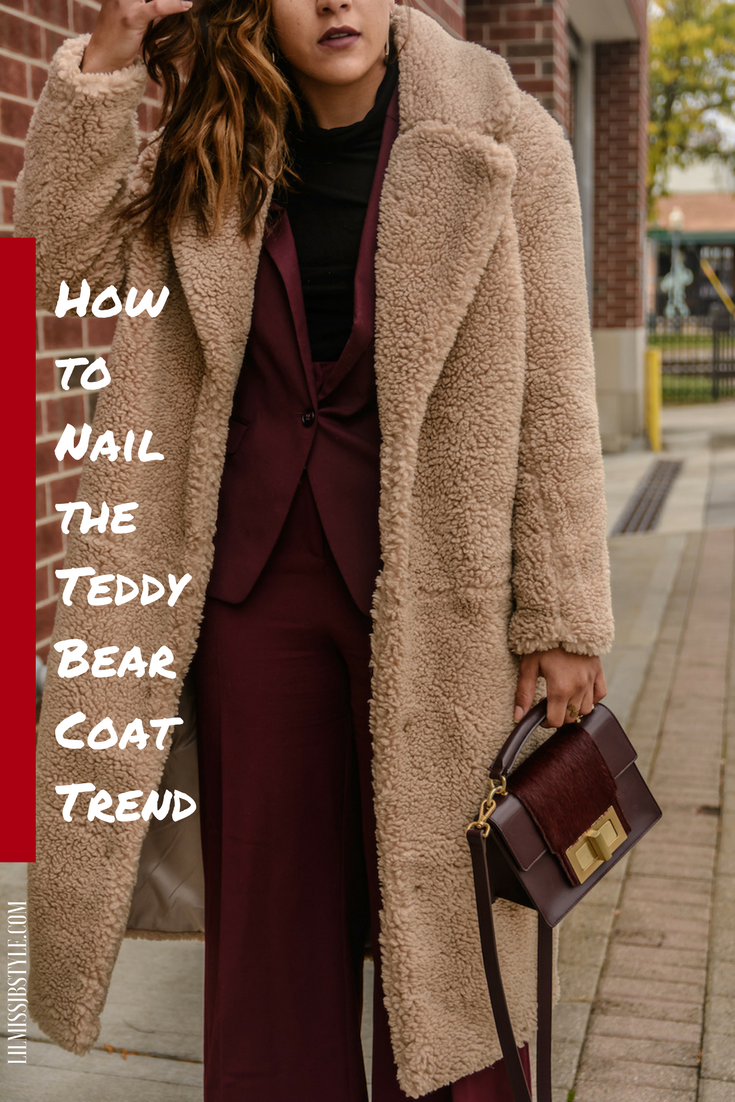 Quick Guide: How to Wear a Teddy Bear Coat for Young Women