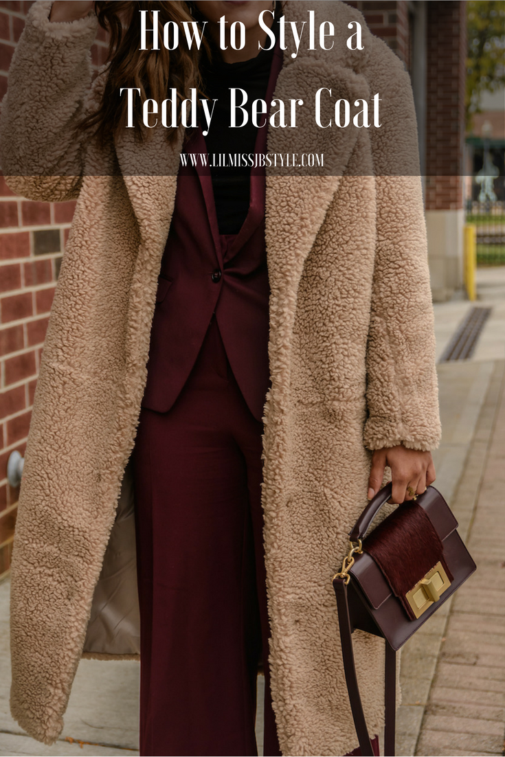 How to Style the Teddy Bear Coat Trend for Young Women
