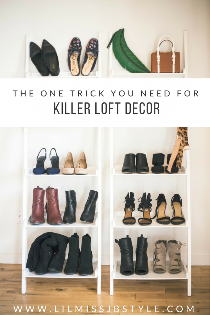 Loft Decor: Shoe Goals