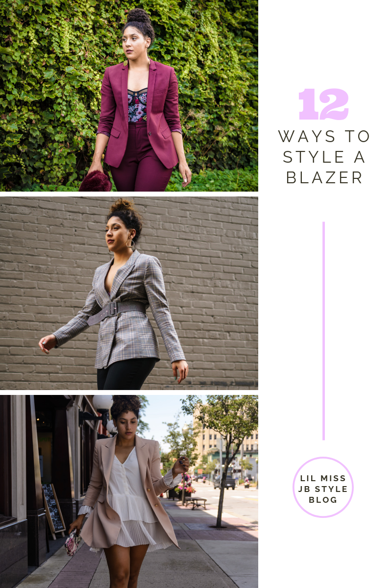 blazers for women professional, fashion blogger style outfits, ways to style a blazer, blazer outfit ideas women, chic blazer looks, fashion blogger tips articles