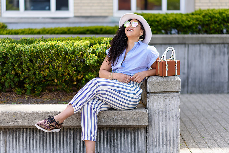Summer Stripes with Topshop