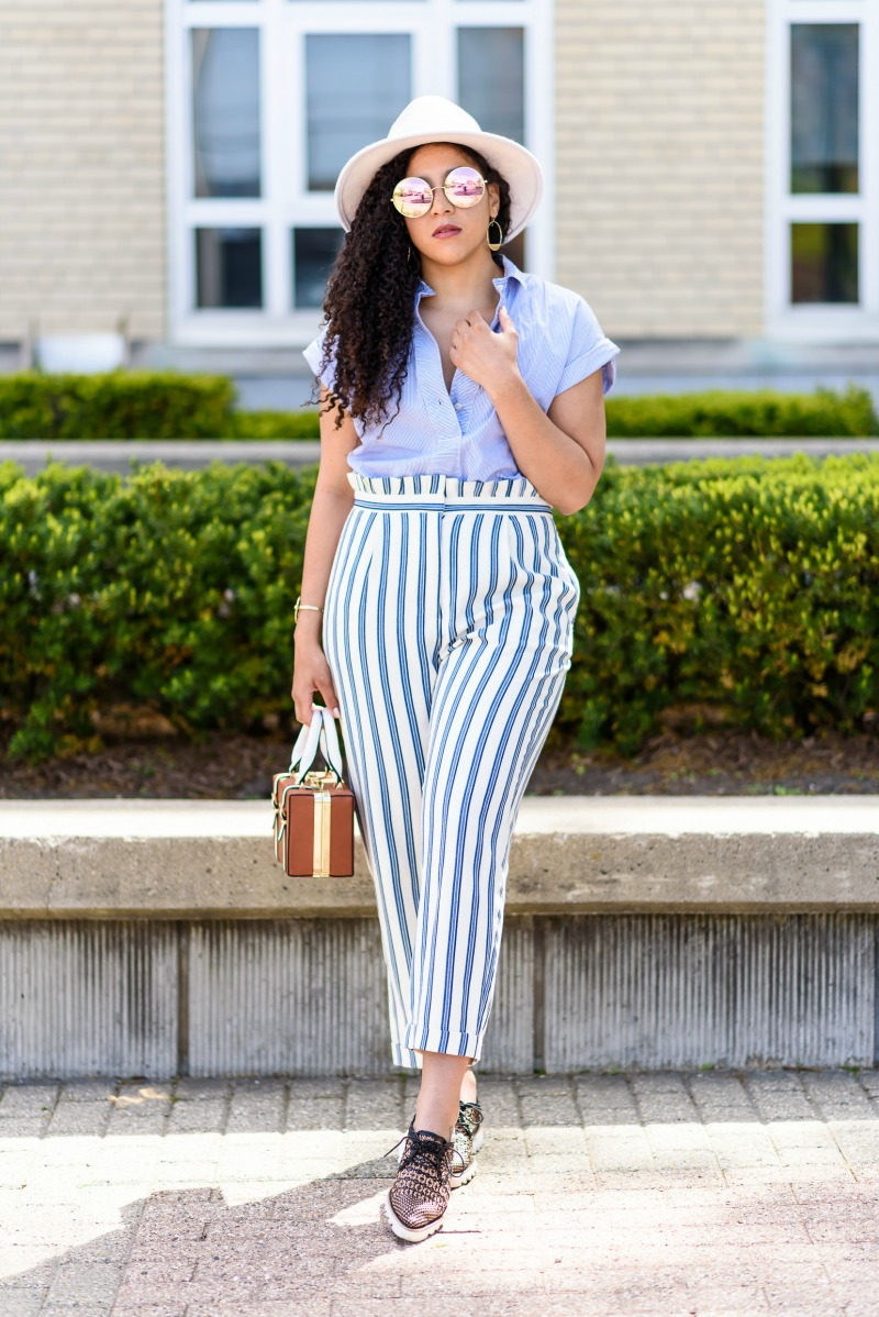 Summer Stripes Work Outfit