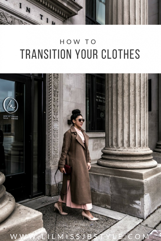 how to transition your clothes