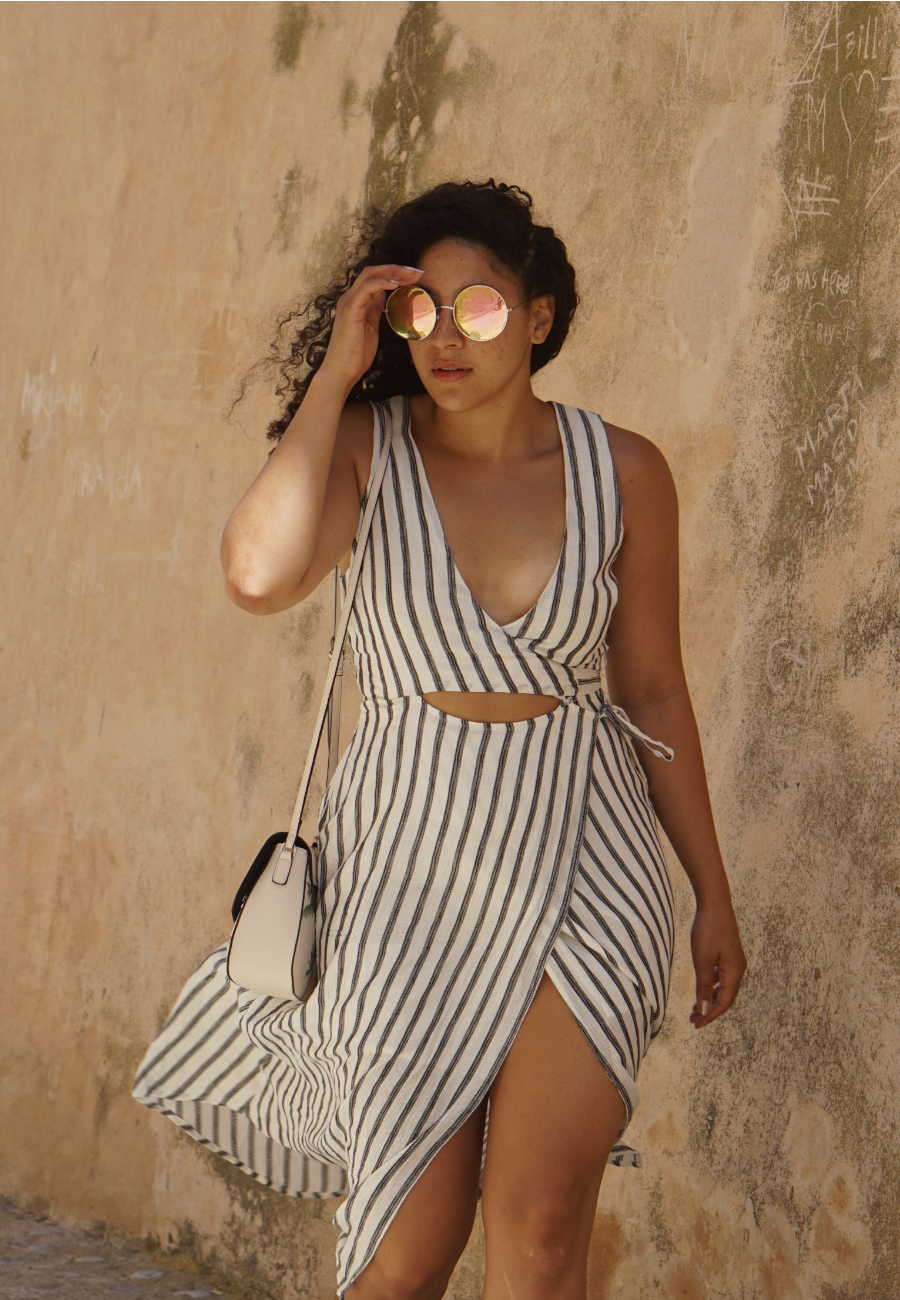 Ibiza Travel Guide: Wrap Dress