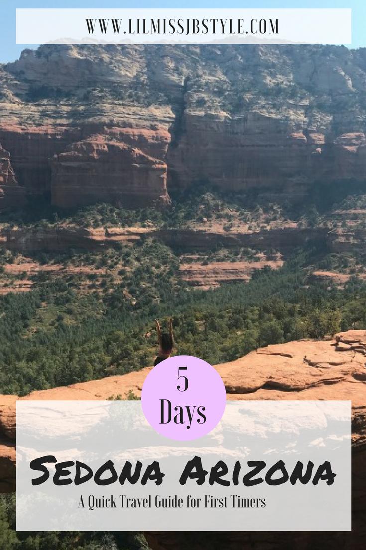 5 Day Travel Guide for Sedona, Arizona| What do it in Sedona Arizona, Things to do Sedona, Traveling to Sedona