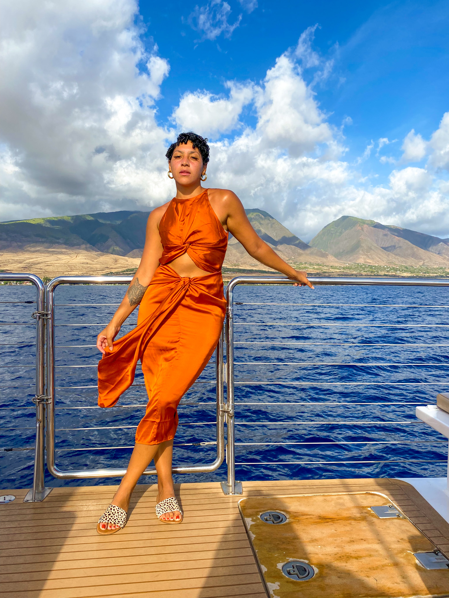 traveling to hawaii maui, what to do hawaii maui, maui covid travel, luxury travel, black girl travel guide, trilogy sunset cruise