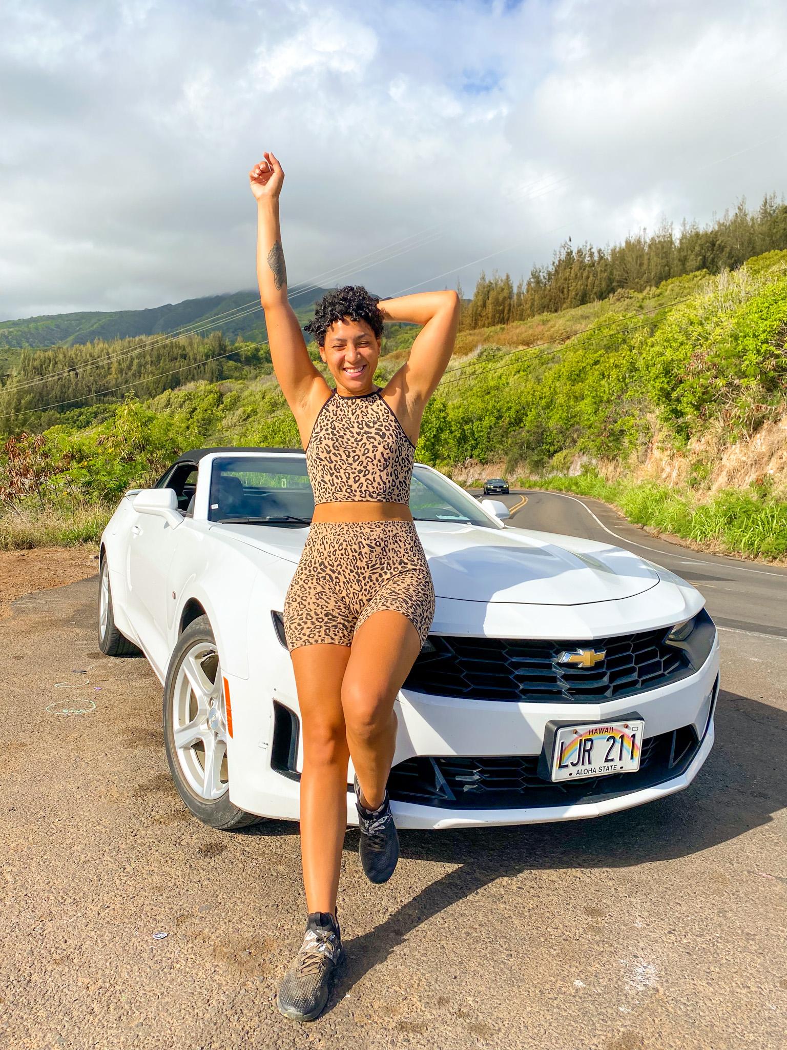 traveling to hawaii maui, car rental hawaii maui, maui covid travel, luxury travel, black girl travel guide