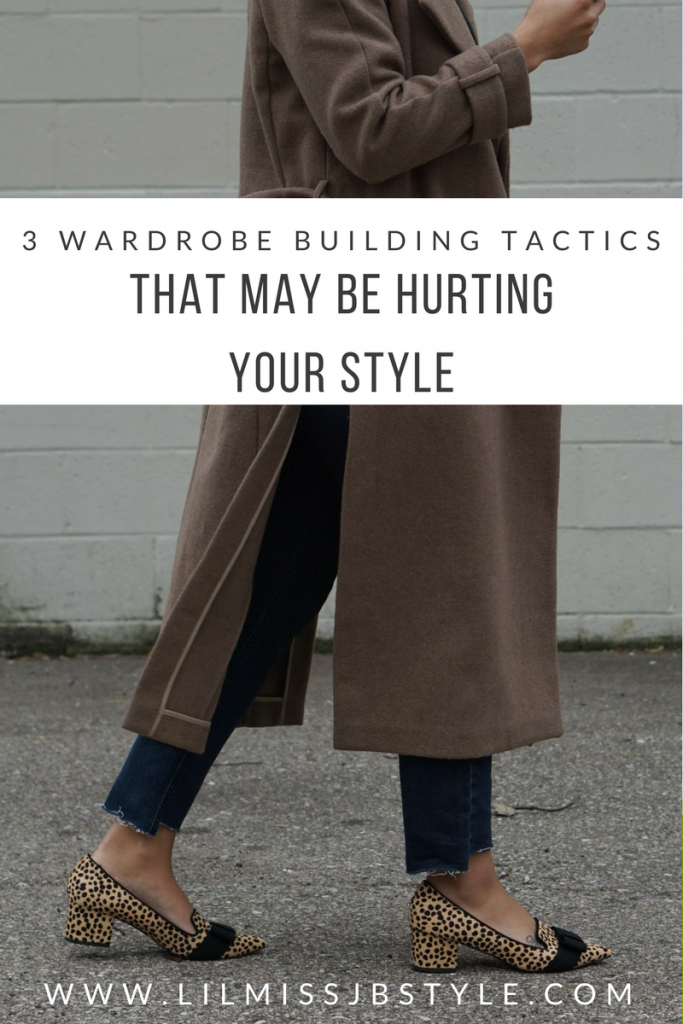 wardrobe tactics that could be hurting your style