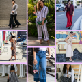 wide leg pants outfit summer chic street styles, wide leg pants outfit summer high waist, wide leg pants outfit dressy