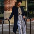 How to Style Winter Stripes