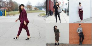 Work Outfit Ideas for Female Engineers by Detroit Fashion Blogger