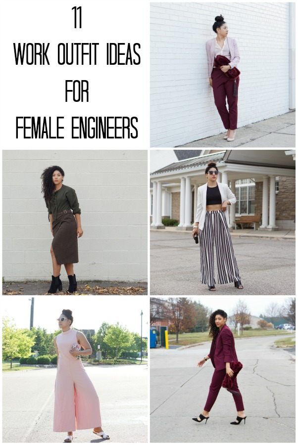 11 Work Outfit Ideas for Female Engineers